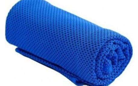 Chladící ručník tmavě modrý 32 x 90 cm - SJH 540D