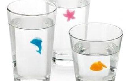 TESCOMA značky na sklenice myDRINK, 12 ks, ocean