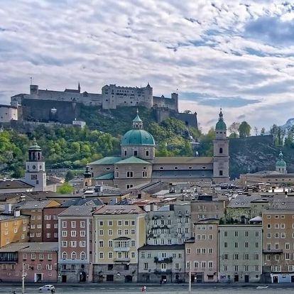 Báječná dovolená v centru Salzburgu se snídaní + 2 děti zdarma 3 dny / 2 noci, 2 os., snídaně
