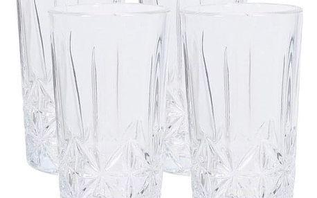 4dílná sada sklenic na long drink