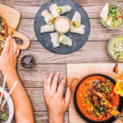 Otevřený voucher na jídlo i pití v trendy restauraci