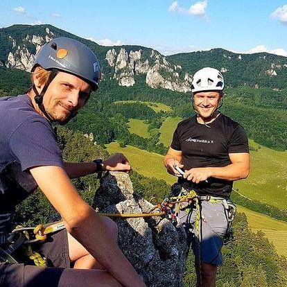 Individuální jednodenní kurz skalního lezení