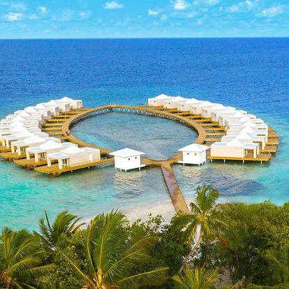 Maledivy - Jižní Ari Atol letecky na 10 dnů, all inclusive