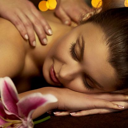 60 minut relaxace: výběr z 6 druhů masáží