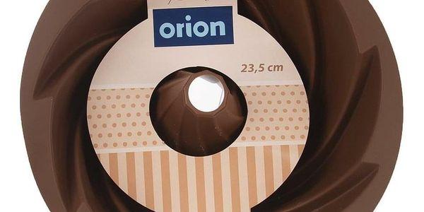 Orion Forma silikon BÁBOVKA FLOWER HNĚDÁ2