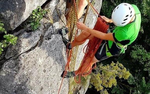 Individuální dvoudenní kurz skalního lezení3