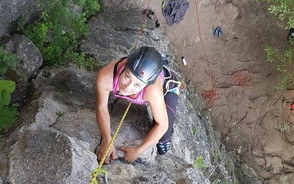 Individuální jednodenní kurz skalního lezení3