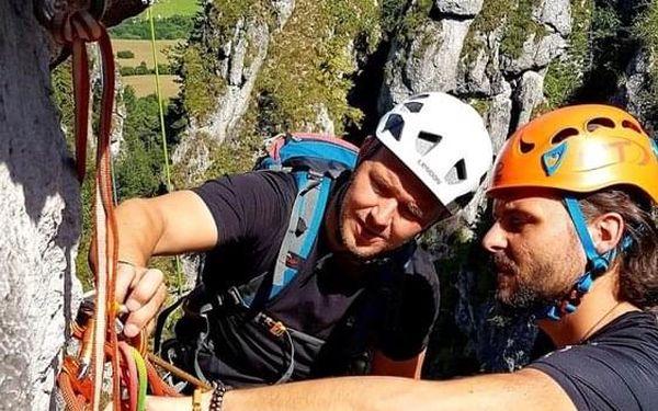 Individuální dvoudenní kurz skalního lezení5