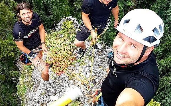 Individuální jednodenní kurz skalního lezení5