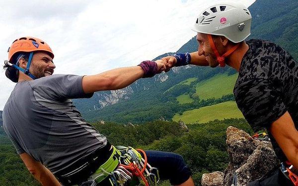 Individuální dvoudenní kurz skalního lezení