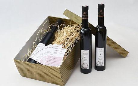 Degustační balíček 6 suchých a polosladkých vín z vinařství