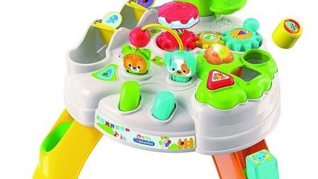 Clementoni Baby Hrací stolek s kostkami a zvířátky