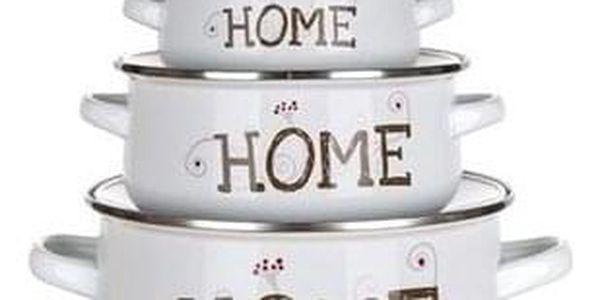 Banquet 6dílná sada smaltovaného nádobí Home