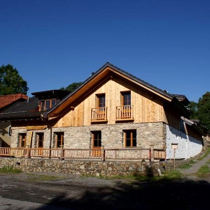 Kašperské Hory, Plzeňský kraj: Charmante Ferienwohnung im Landhausstil
