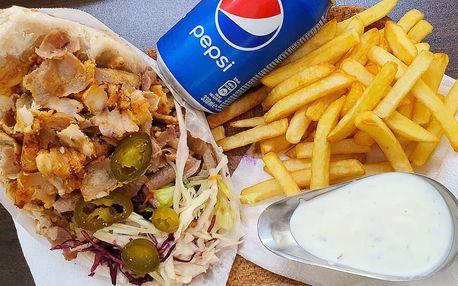 Na odnos s sebou: döner kebab, dürüm kebab i talíř
