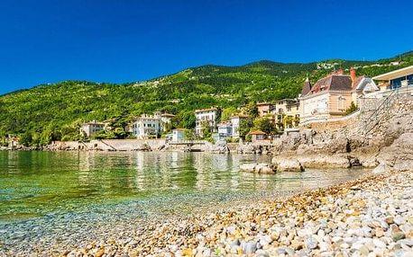 Chorvatsko jen 50 m od moře v Hotelu Park **** s neomezeným vstupem do bazénu a fitness + polopenze