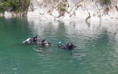 Poznávací ponor na lomu u Svobodných Heřmanic