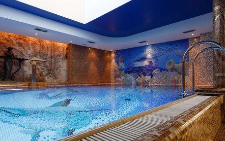 Hotel Aqua Marina v Karlových Varech s wellness procedurami