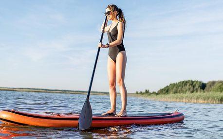 Paddleboard na den či dva včetně vybavení