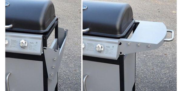 Cattara Plynový pojízdný gril Master Cheef, 133 x 98 x 51 cm2