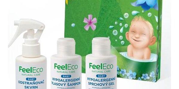 Feel Eco balíček Baby koupání a odstraňovač skvrn