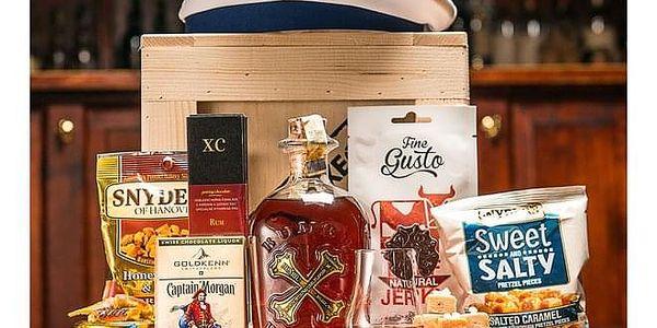 Originální dárková bedna s rumem Bumbu