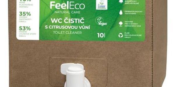 Feel Eco WC čistič s citrusovou vůní Bag in Box 10l2