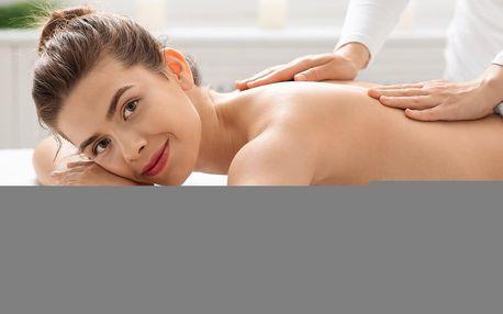 45–90 min. masáže zad pro uvolnění svalstva a relax