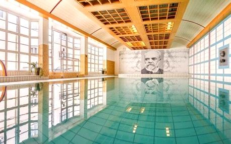 Karlovy Vary: Hotel Dvořák Spa & Wellness **** s wellness, 3 procedurami a hernou pro děti + snídaně