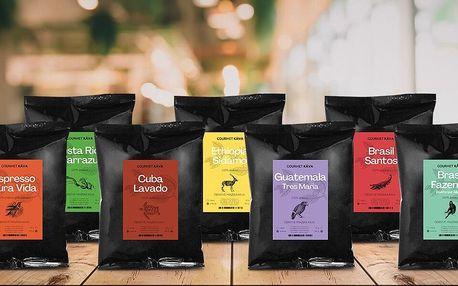 Kávové balíčky z Jižní Ameriky i z celého světa