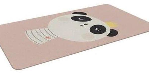 Domarex Dětský pěnový koberec Panda, 120 x 160 cm3