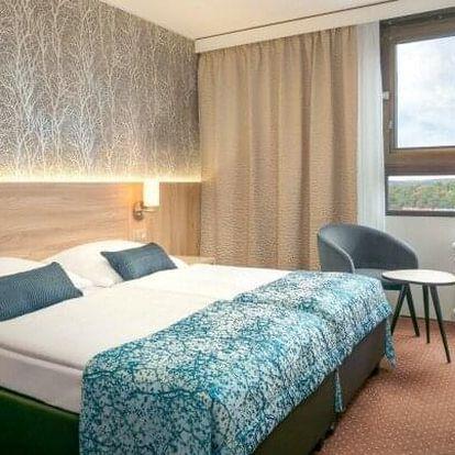 Praha: Wellness či romantika v Hotelu Olšanka **** s neomezeným wellness, slavnostní večeří a snídaněmi
