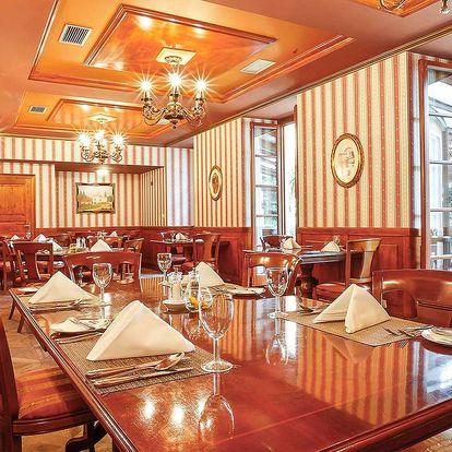 Až 6chodové degustační menu v Chateau St. Havel