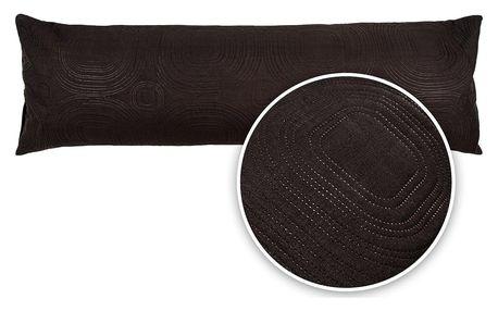 4Home Povlak na relaxační polštář Náhradní manžel Doubleface černá,, 50 x 150 cm