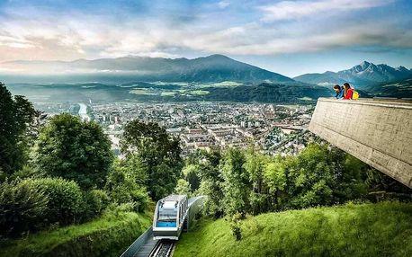 Alpský Innsbruck s návštěvou skokanských můstků 2021, Tyrolsko