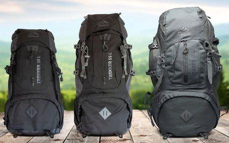 Turistické batohy Tenson Trekker: 30, 55 nebo 65 l