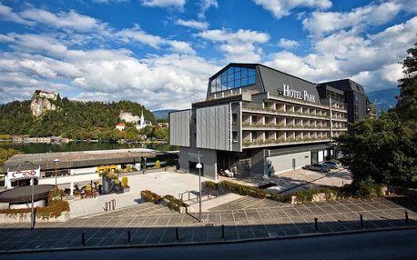 Hotel Park (Bled), Jezero Bled