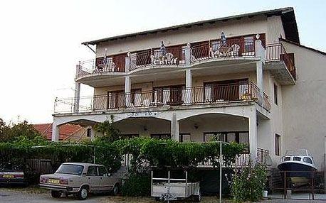 Privátní no name apartmány Turanj, Severní Dalmácie
