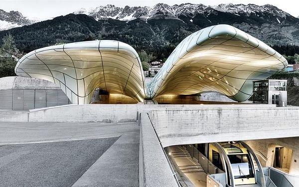 Alpský Innsbruck s návštěvou skokanských můstků 2021, Tyrolsko, autobusem, bez stravy2