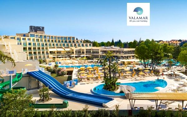Hotel Valamar Parentino, Istrie