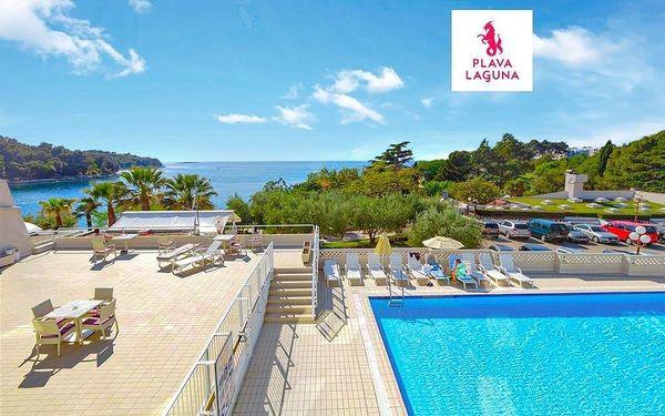 Hotel Plavi, Istrie
