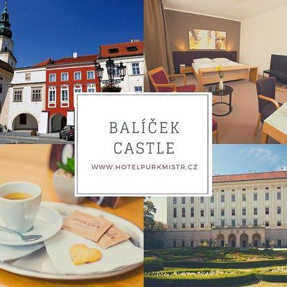 Balíček Castle v Kroměříži