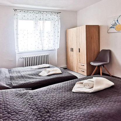 Moderní apartmány pod Tatrami, lahev vína a slevy