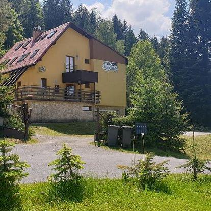 Penzion na Lůkách - 6 denní pobyt pro 2 osoby od 1.7.2021 v Horní Bečvě