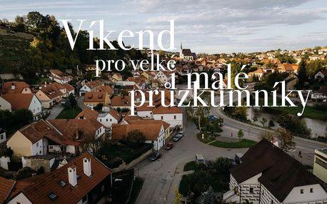 Krumlov pro velké i malé průzkumníky v Českém Krumlově