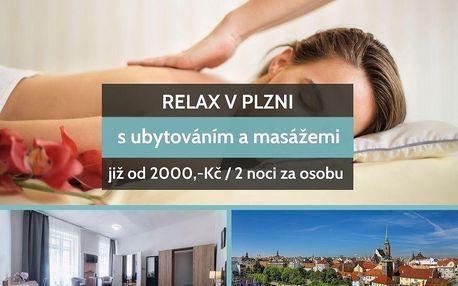 Relax v Plzni s masáží na 2 noci ve všední dny v Plzni