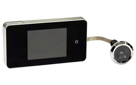Digitální dveřní kukátko, 11x5,9x1,4 cm