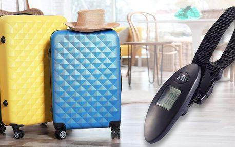 Příruční váha na zavazadla až do hmotnosti 40 kg