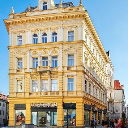 Luxusní zázemí v srdci Prahy: 5* hotel a snídaně