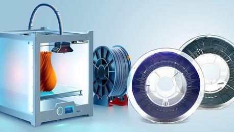 Recyklované filamenty pro 3D tiskárny: 5 barev